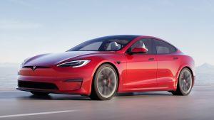 Tesla Model S facelift - front