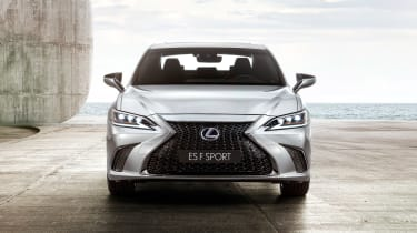 Lexus ES F-Sport - full front