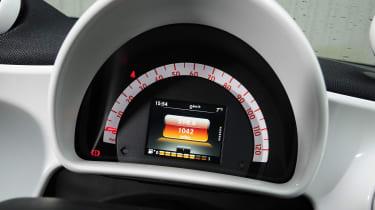 Smart ForFour - dials