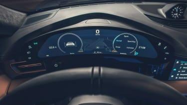 Porsche Taycan - dials