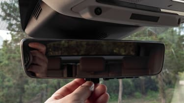 Range Rover Evoque - rear view mirror