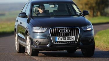 Audi Q3 2.0 TDI (2WD) front tracking