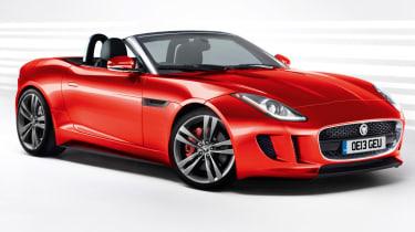 Jaguar F-Type front three-quarters