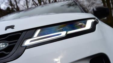 Range Rover Evoque - front light
