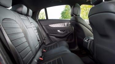 Mercedes GLC 250d Coupe - rear seats
