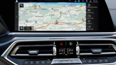 BMW X6 - sat-nav