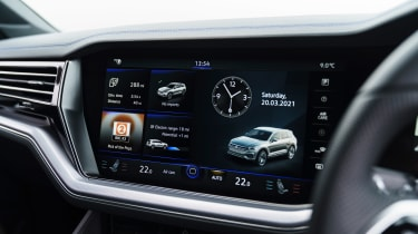 Volkswagen Touareg R - infotainment