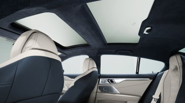BMW 8 Series Gran Coupe - roof