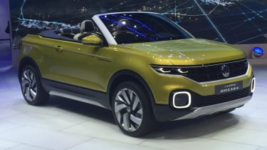 Volkswagen T-Cross Breeze - Geneva show front