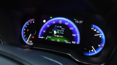 Toyota Corolla hybrid Long term - dials