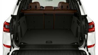 BMW X5 plug-in hybrid - boot