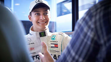 George Russell - Mercedes young driver
