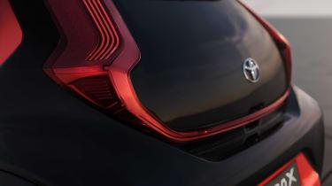 Toyota Aygo X prototype - rear detail