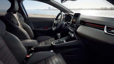 Renault Clio - front seats