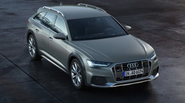 Audi A6 allroad quattro - above