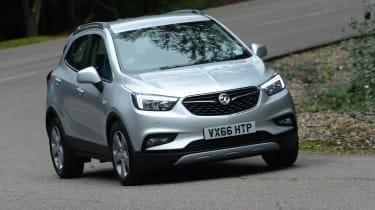 Vauxhall Mokka X - front cornering