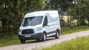 Ford Transit - front action