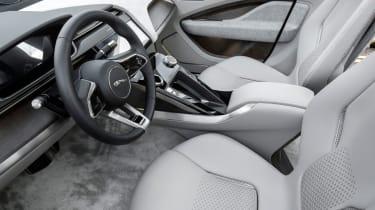 Jaguar I-Pace prototype 2017 - interior 3