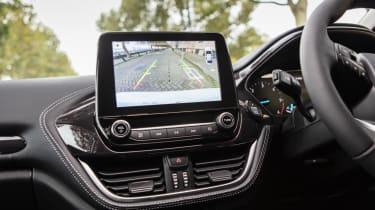 Ford Fiesta Vignale - rear parking camera