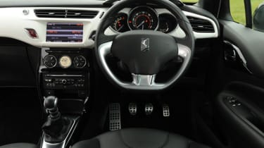 Citroen DS3 interior
