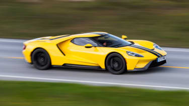 Ford GT Norway road trip - side profile