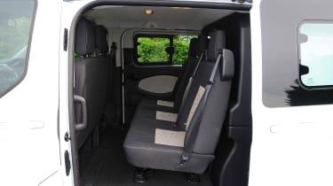 Ford Transit - rear seats