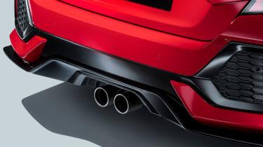 Honda Civic - exhaust detail