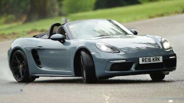 Porsche 718 Boxster 2016 - front drift
