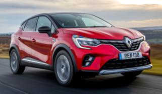 Renault Captur E-Tech Hybrid - front