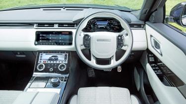 Range Rover Velar - dash