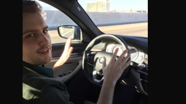 BMW 5 Series Personal CoPilot autonomous prototype joe Finnerty