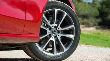 Mercedes E-Class Coupe - E 220d wheel