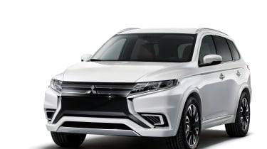 Mitsubishi Outlander PHEV Concept S interior