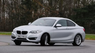 BMW 2 Series 220d action