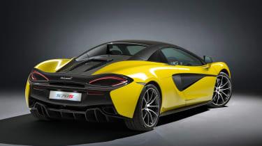 McLaren 570S Spider - rear roof closed