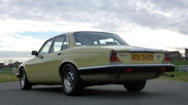Minder Cars - Daimler rear three quarter