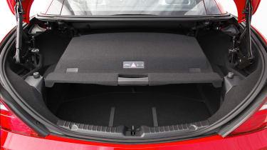 Mercedes SLK55 AMG boot