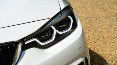 BMW 430i Convertible - front light detail