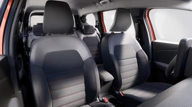 Dacia Jogger - front seats