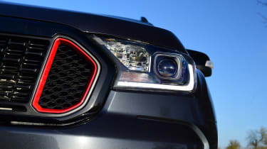 Ford Ranger Thunder - front light