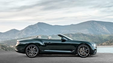 Bentley Continental GT Convertible - side roof down