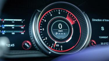 Aston Martin DB11 V8 - dial detail