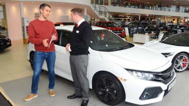 Honda Civic long-term review - handover