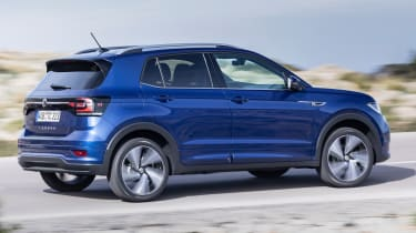Volkswagen T-Cross - rear cornering