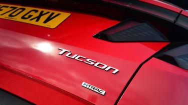 Hyundai Tucson MHEV - rear badge
