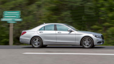 Mercedes S-Class profile