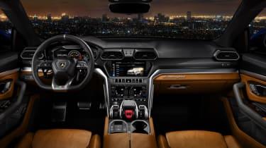 Lamborghini Urus - interior shot