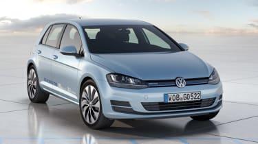 Volkswagen Golf BlueMotion concept front