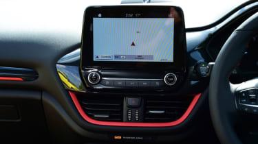 Ford Fiesta ST-Line infotainment screen