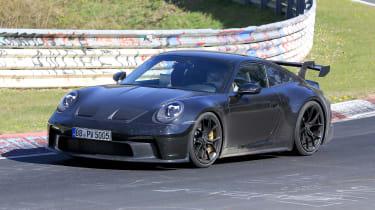 Porsche 911 GT3 spy
